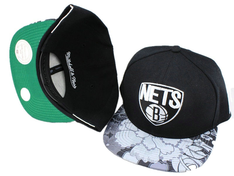 Brooklyn Nets Snapback Hat JT 0613